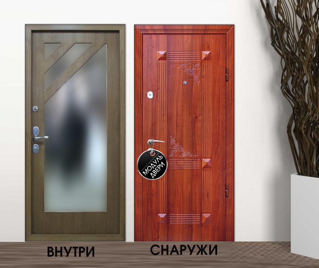 парадные стальная дверь