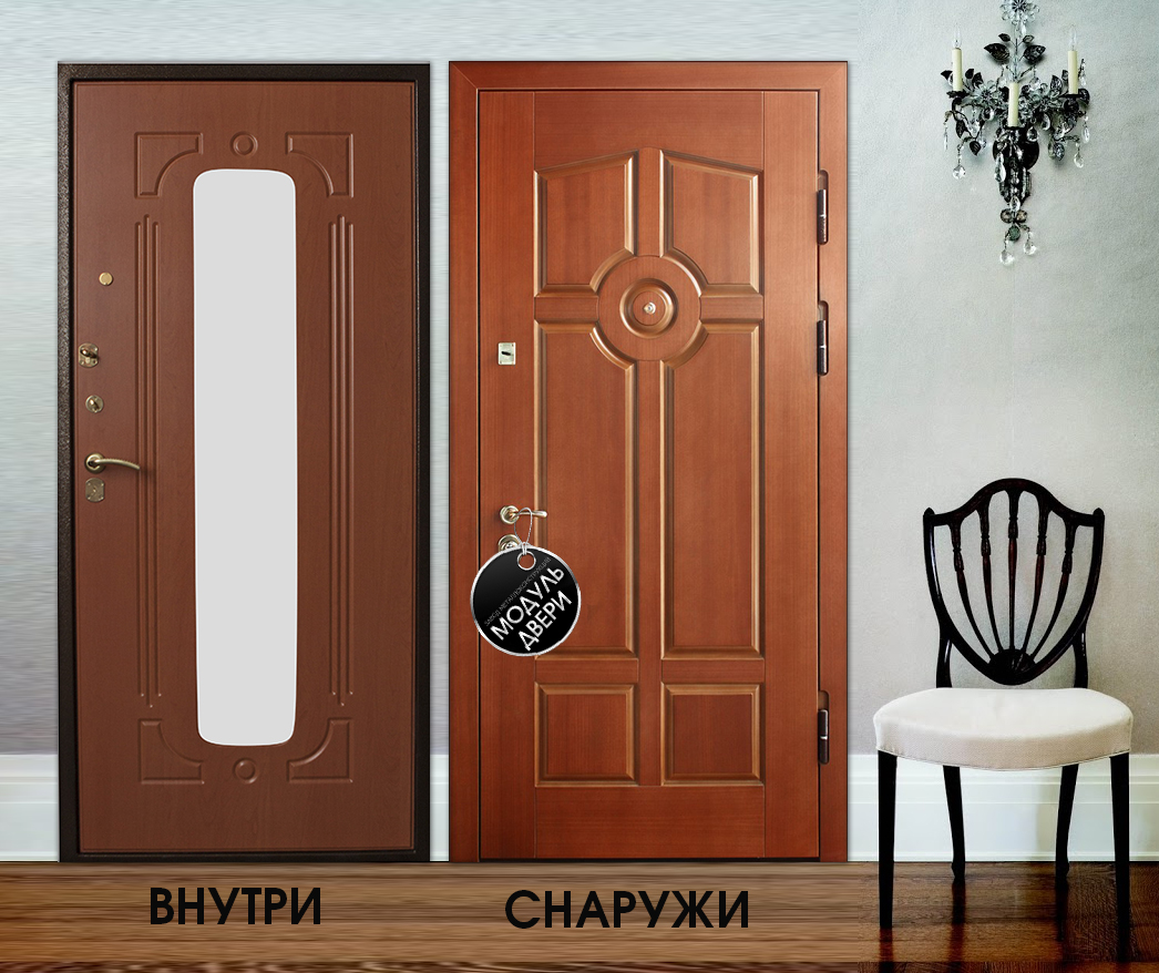 металлические двери на площадку в лобне