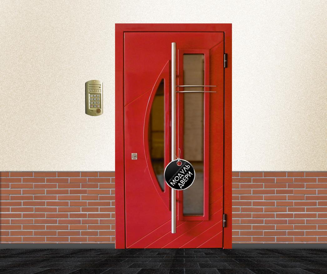 цена железной подьездной двери