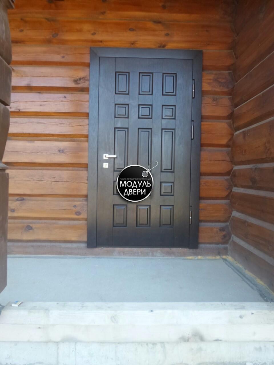 покрытие стальные двери в частный дом