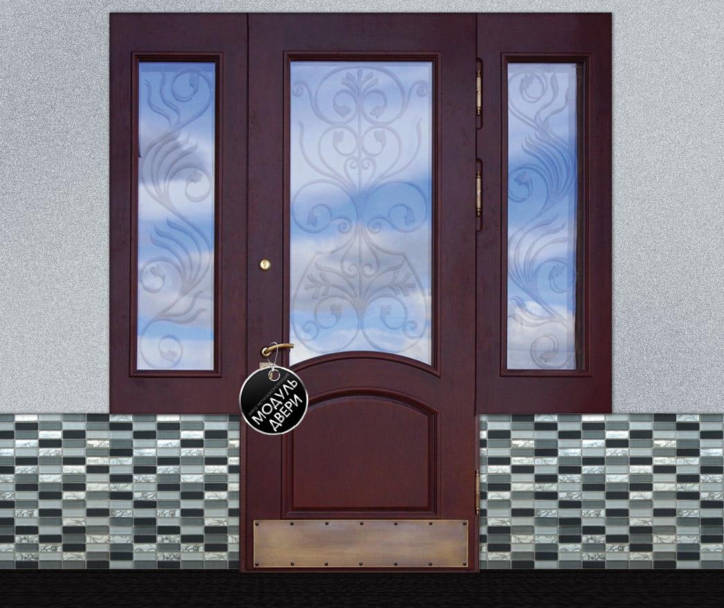 металлические двери со стеклом наро фоминск
