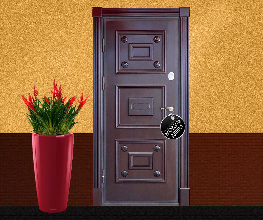 установка металлической парадной двери цена