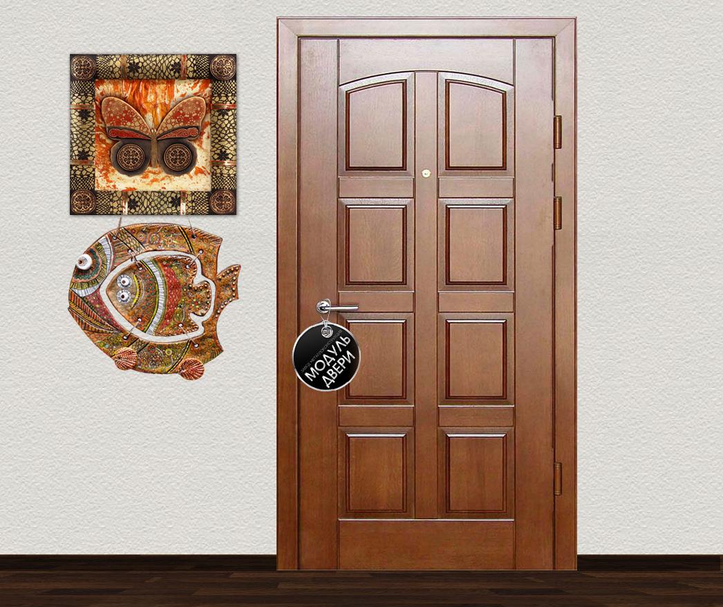 дверь металлическая противопожарная входная с филенкой