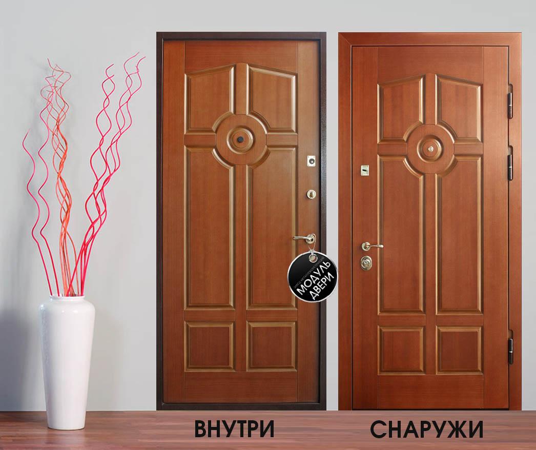 железный дверь квартиры