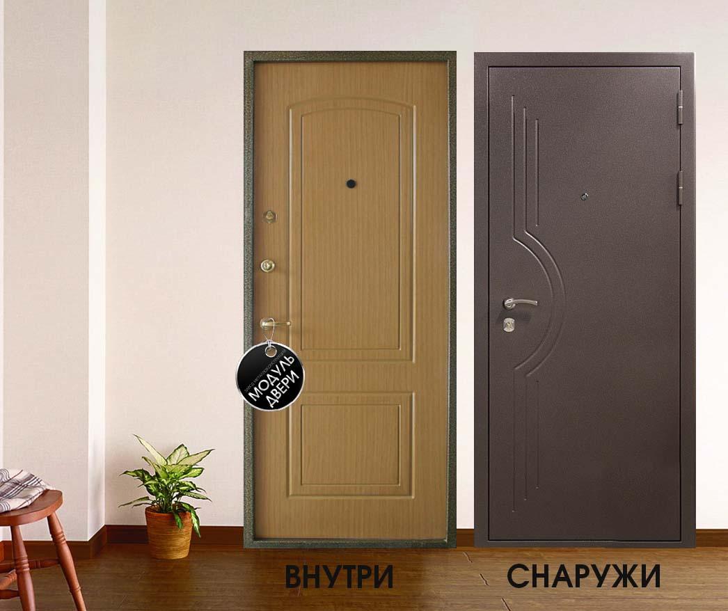 двери входные квартирные из мдф