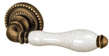 Ручка раздельная Silvia CL 1 OB/CRP-213 Античная бронза/кракелюр