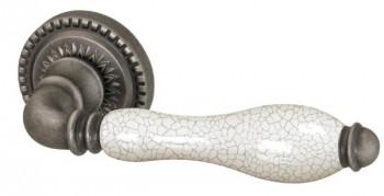 Ручка раздельная Silvia CL 1 AS/СRP-109 Античное серебро/кракелюр
