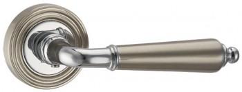 Ручка раздельная LIBRETTO ML SN/CP-3 матовый никель/хром