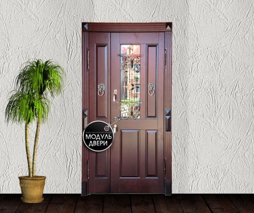 купить входная дверь с витражами