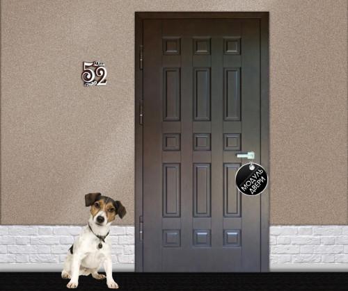 стальная входная дверь 2200 1050