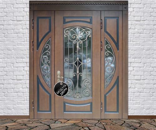 входные двери со стеклом в дмитрове
